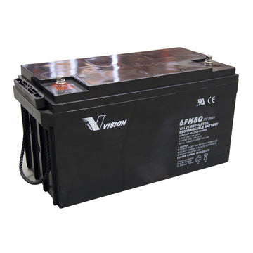 Vision AGM Deep Cycle battery 12v 80Ah