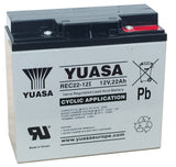 Deep Cycle Battery 12v 22Ah AGM