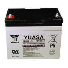 Yuasa AGM Deep Cycle battery REC36-12