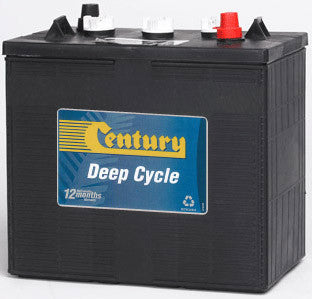 Century Deep Cycle Flooded battery 6v 245Ah