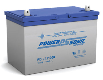 Deep Cycle Battery PowerSonic 12v 100Ah
