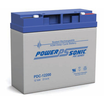 Deep Cycle Battery PowerSonic 12v 21Ah AGM