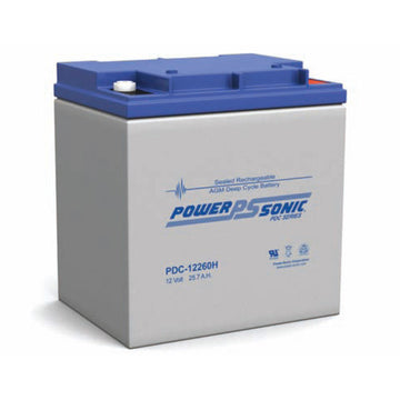 Deep Cycle Battery PowerSonic 12v 25.7Ah AGM