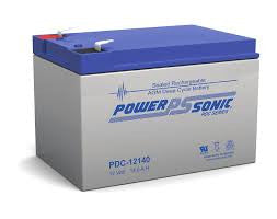 AGM Deep Cycle Battery PowerSonic 12v 14Ah