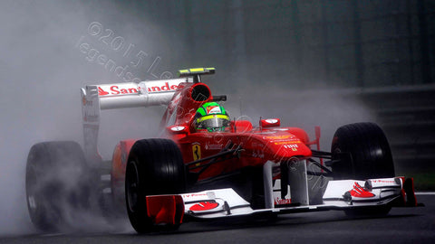 Formula 1 Print - Felipe Massa Spa-Francorchamps 2011 - Legends Of The Sport