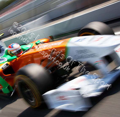 Formula 1 Print - Paula di Reasta Hungaroring 2011 - Legends Of The Sport