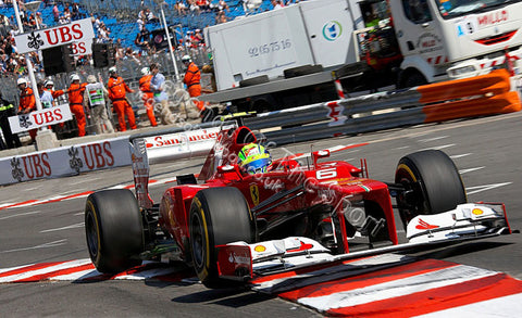 Formula 1 Print - Monaco GP Felipe Massa Ferrari 01 - Legends Of The Sport