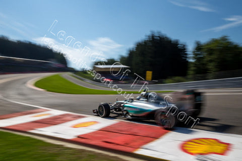Formula 1 Print - Belgian GP Nico Rosberg (GER) Mercedes AMG F1 W06 Saturday 22nd August Spa-Francorchamps Belgium - Legends Of The Sport