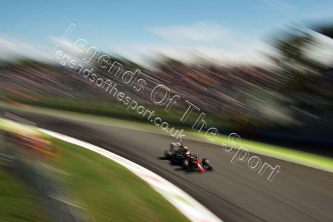 Formula 1 Print - 2015 Italian GP Jenson Button (GBR) McLaren MP4-30 Saturday 5th September 2015 Monza - Legends Of The Sport