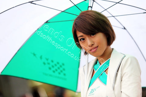 Formula 1 Print - 2015 Japanese GP A Japanese Grid Girl at the Japanese Grand Prix on Thursday 24th September 2015 Suzuka Japan - Legends Of The Sport