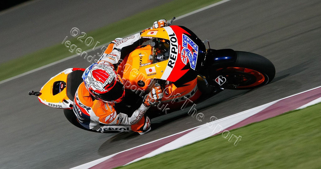 MotoGP Print - 2012 MotoGP Casey Stoner 27 Original 10 - Legends Of The Sport
