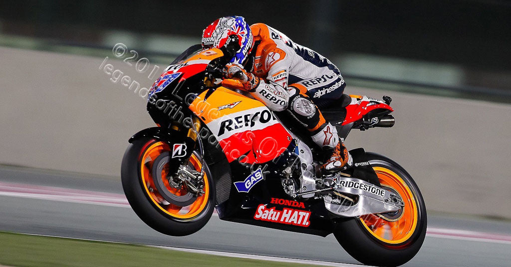 MotoGP Print - 2012 MotoGP Casey Stoner 27 Original 14 - Legends Of The Sport