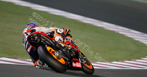 MotoGP Print - 2012 MotoGP Casey Stoner 27 Original 29 - Legends Of The Sport