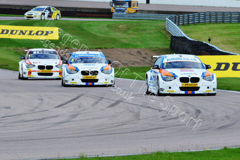 WTC Print - BTCC Rockingham Raceway 5&6 September 2015 Sam Tordoff BMW 125i M-Sport - Legends Of The Sport