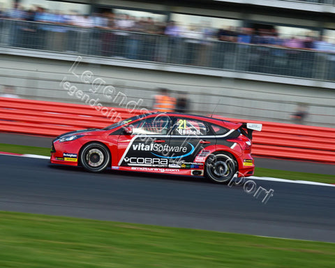WTC 2015 BTCC Silverstone 26 27 September 2015 Mike Bushell Ford Focus CM11 0056 - Legends Of The Sport