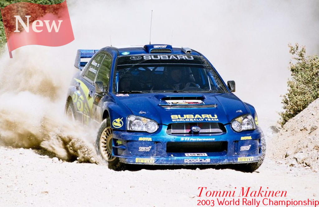 Tommi Makinen Subaru 2003 World Rally Championship