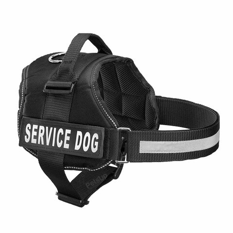 PetsUp Dog Harness, Chest Body Belt for Dogs (Black)