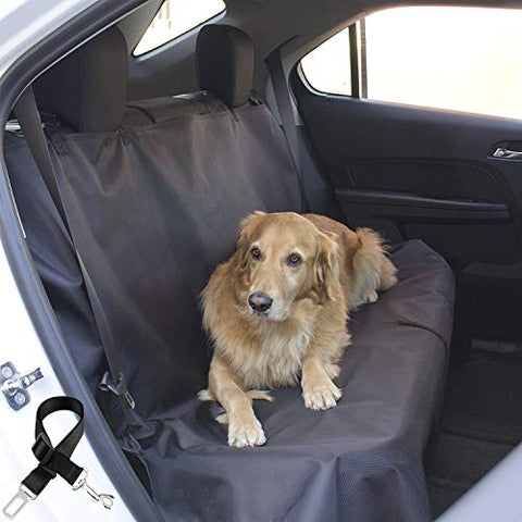 PetsUp Dog, Pet Seat Cover for Car (145*130 CM, Black)