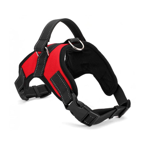 PetsUp Cool Comfort Oxford Cloth Vest Harness for Dogs (Red)