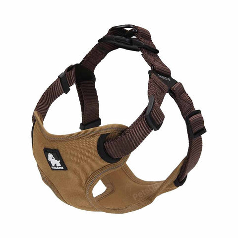 PetsUp Weighted Dog Harness for dog (Color-Brown)