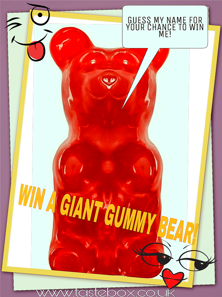 Guess the Name of the Giant Gummy Bear Competition