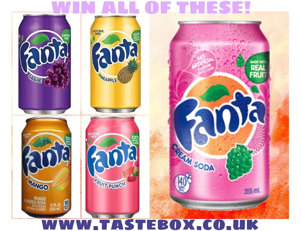 COMPETITION TIME - FANTA ON US!