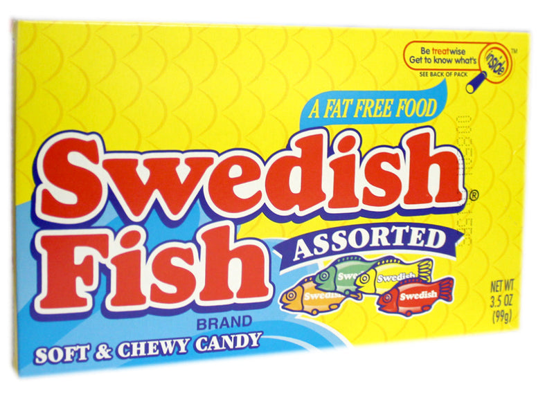 Swedish Fish Assorted Flavours (99g)