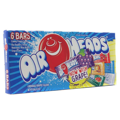 Air Heads Mixed Flavour Theatre Box (94g)