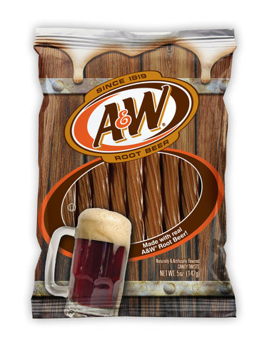 A&W Root Beer Licorice Twists (142g)