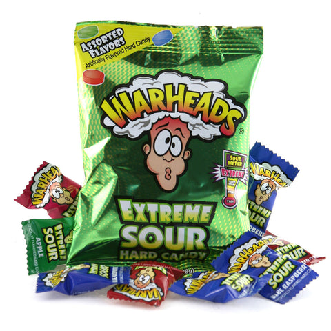 Warheads Extreme Sour Hard Candy Assorted (56g)