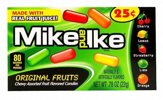 Mike & Ike Original Mini (22g)