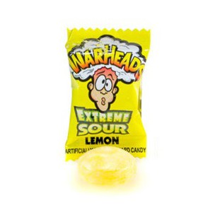 Warheads Lemon Mini (4g)