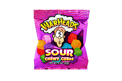 Warheads Sour Chewy Cubes Mini (22g)