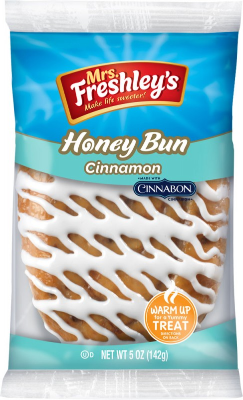 Mrs Freshley's Cinnabon Honey Bun (142g)