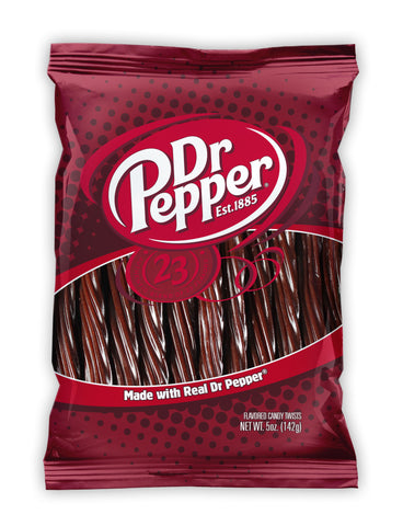 Kenny's Dr Pepper Flavour Twists (142g) - Tastebox.co.uk