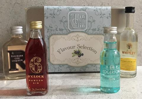 Tin of Gin Gift Set - Flavour Selection