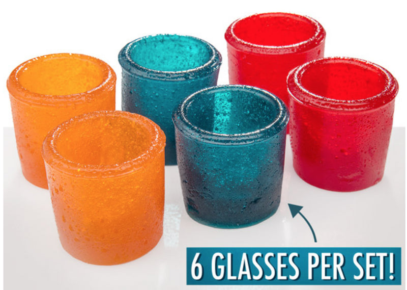 Giant Gummy Shot Glasses 6 Pack