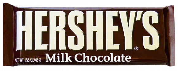 Hershey's Milk Chocolate Bar (43g)