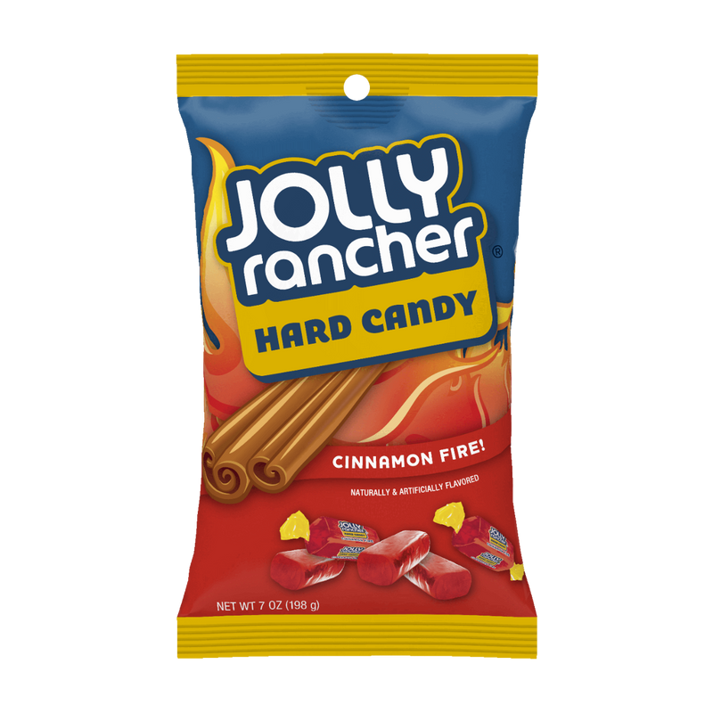 Jolly Rancher Cinnamon Fire Hard Candy (198g)