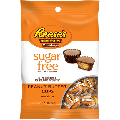 Reese's Miniature Peanut Butter Cups Sugar Free (85g)