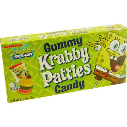 Spongebob Gummy Krabby Patties (72g)