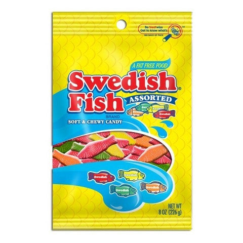 Swedish Fish Assorted Bag (226g)
