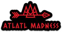 Atlatl Madness Die Cut sticker-ATLATL MADNESS-ATLATL MADNESS