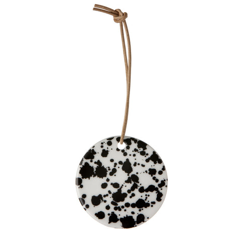 Porcelæn ornament - Black Splash fra Ferm Living