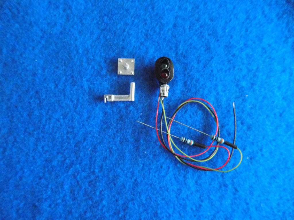 #1083 2 Light D Type Signal Head/Dwarf Signal