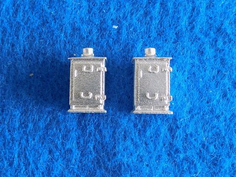 #1337 Short Relay Cabinets (2)
