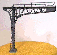 #4214 Cantilever Signal Bridge Kit Double Track Black