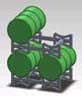#6120 Barrells and Barrell Rack Kit