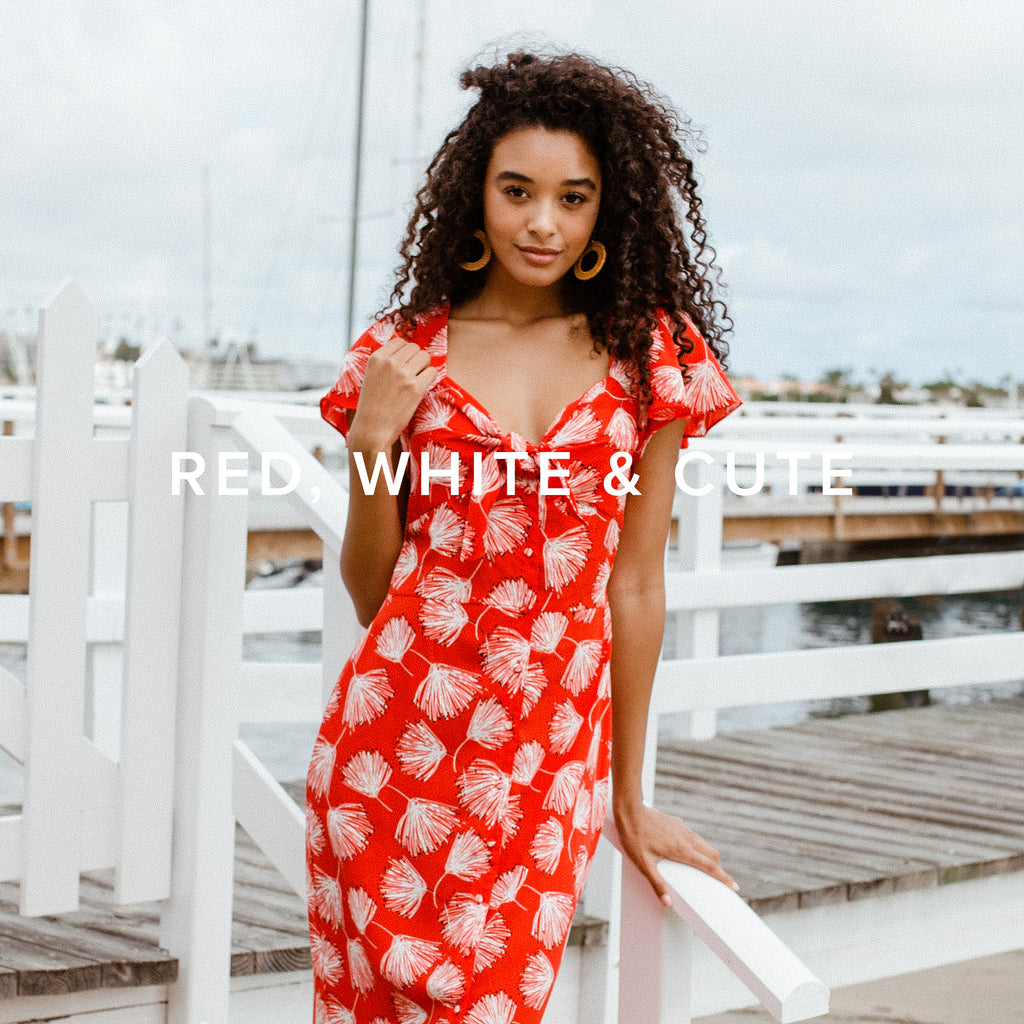 Red, White & Cute