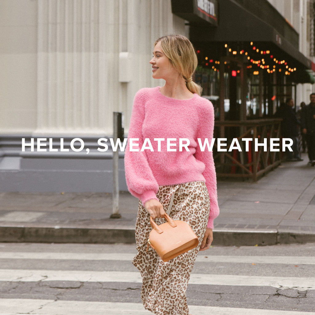 Hello, Sweater Weather